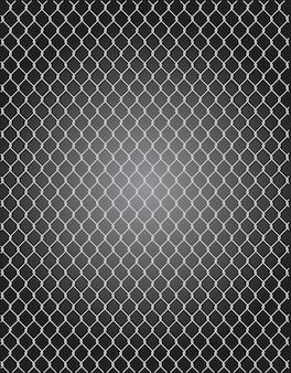 Alambre de malla para esgrima vectorial