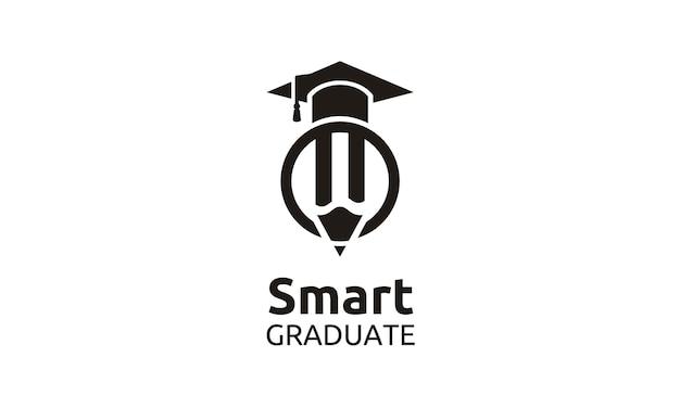 Alcanza lo mejor para el logotipo de la escuela / universidad / universidad / posgrado