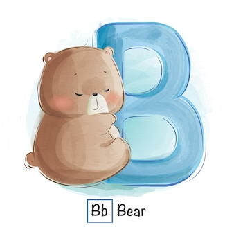 Alfabeto animal - b