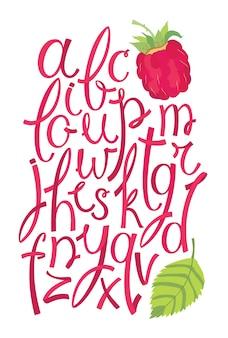 Alfabeto de berry