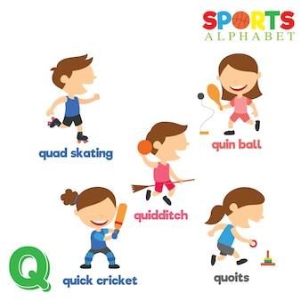 Alfabeto deportivo