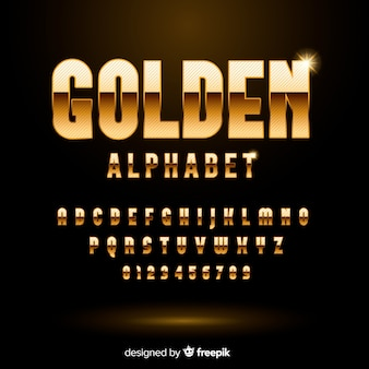 Alfabeto dorado