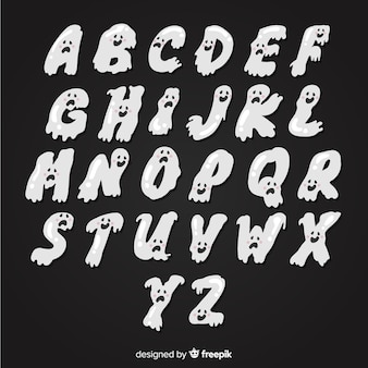 Alfabeto de fantasmas