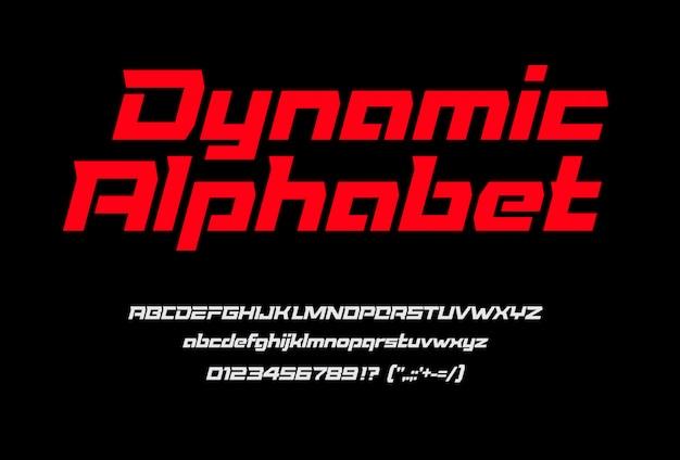 Alfabeto geométrico cursiva.
