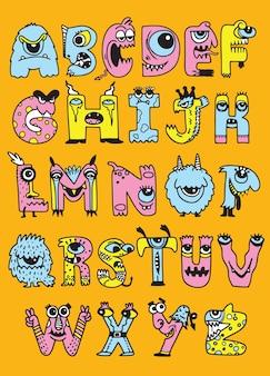 Alfabeto de halloween