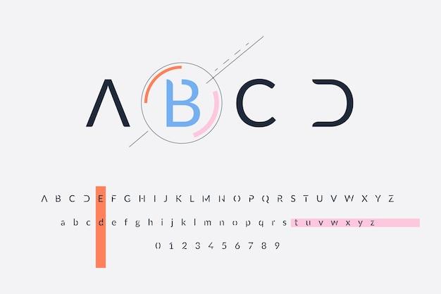 Alfabeto mínimo abstracto