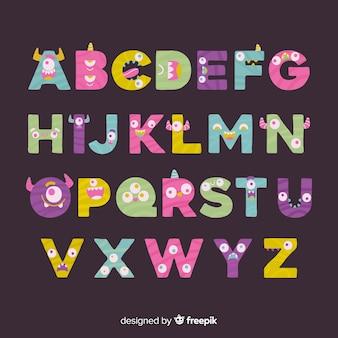 Alfabeto de monstruos