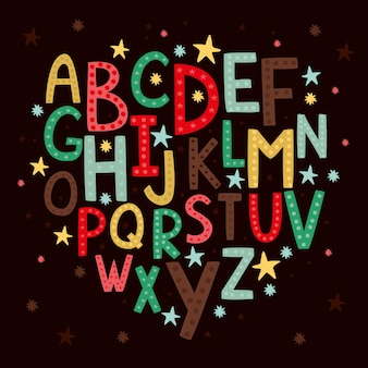 Alfabeto para niños