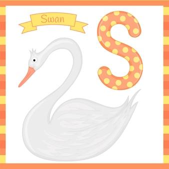 Alfabeto de zoológico de niños lindos
