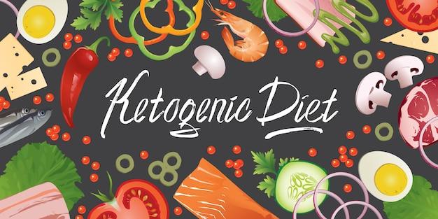 Alimento para la dieta cetogénica.