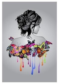 Alma de mariposa