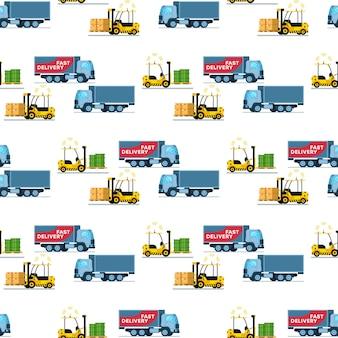 Almacenamiento entrega patrón de transporte