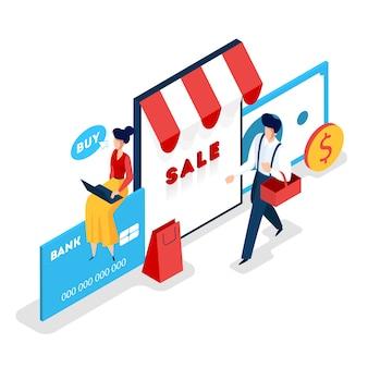 Almacenar banner web en línea. búsqueda de productos en la tienda online