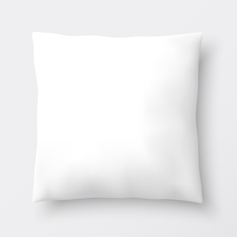 Almohada blanca ilustración.