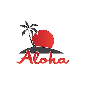 Aloha logotipo