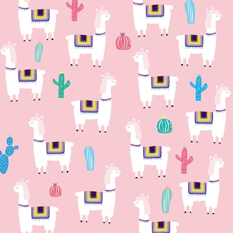 Alpaca, textura infantil creativa.