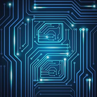 Alta tecnología tecnología geométrica