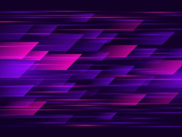 Alta velocidad. de alta tecnología. fondo de tecnología abstracta. ilustración vectorial