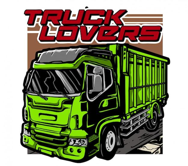 Amantes de los camiones