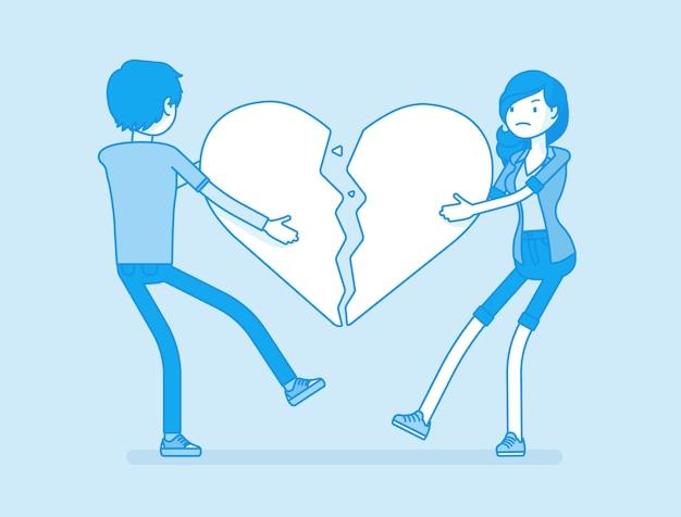 Amantes del corazón roto
