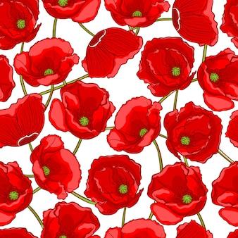 Amapolas rojas