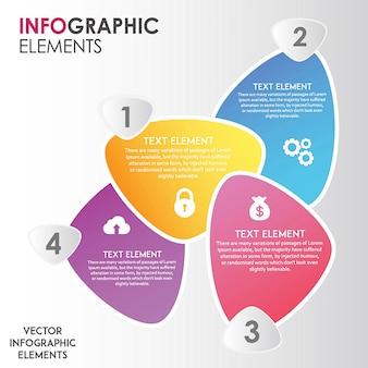 Amazing vector ingographics diseños