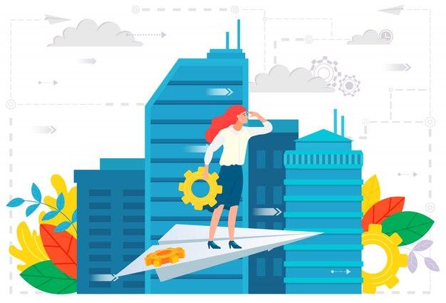 Ambiciones comerciales, liderazgo de empleados