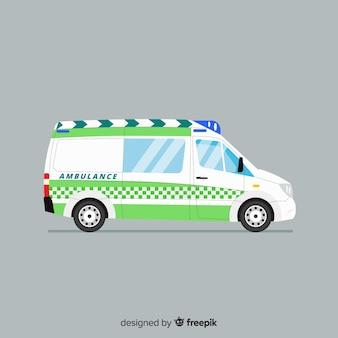 Ambulancia flat