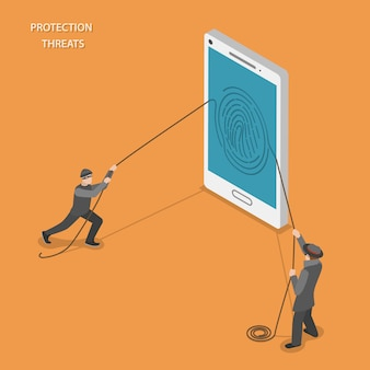 Amenazas de protección móvil