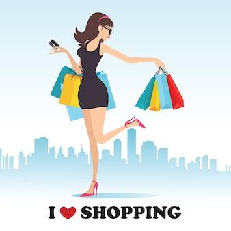 Amo ir de compras