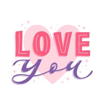 Amor colorido que letras