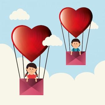 Amor y dia de san valentin