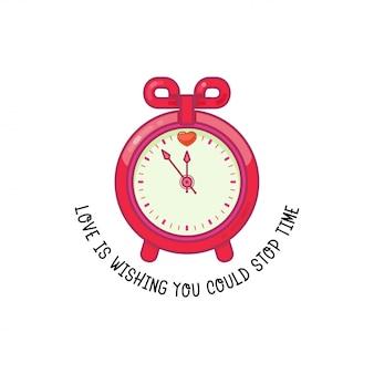 El amor es desear que puedas detener el tiempo.