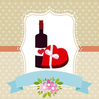 Amor lindo emblema