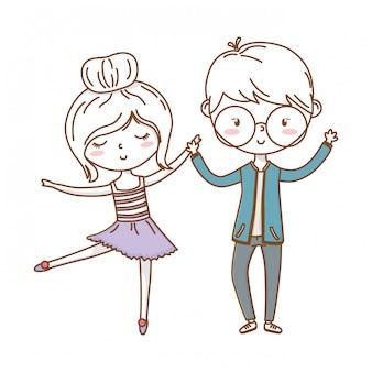 Amor romántico pareja linda