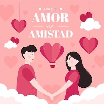 Amor și dia de la amistad