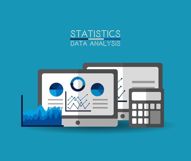 Análisis de datos estadísticos móvil