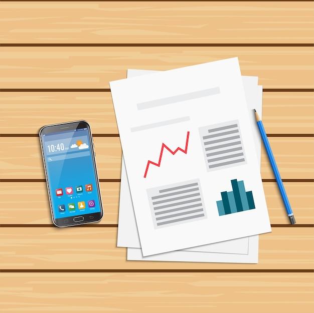 Análisis de datos estadísticos y teléfono inteligente