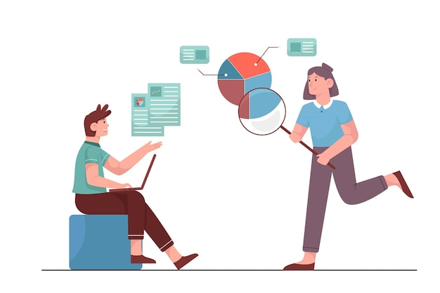 Análisis empresarial para encontrar ideas para hacer negocios