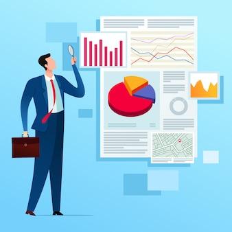 Análisis de informes de negocios