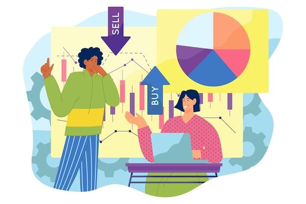 Análisis del mercado de valores.