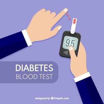 Análisis de sangre para diabéticos