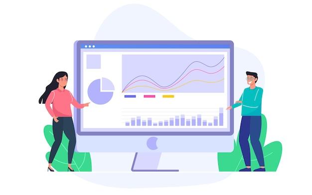Analizar datos de gráficos en el escritorio