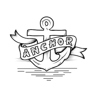 Anchor logo banner