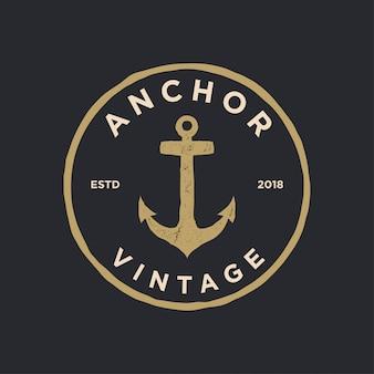 Ancla logo vintage