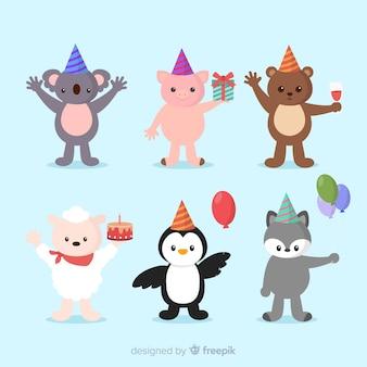 Animales de cumpleaños