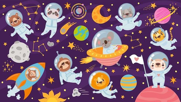 Animales en espacio abierto