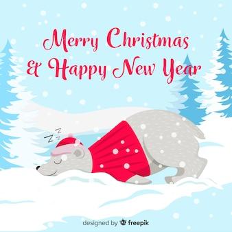 Animales en navidad
