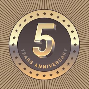 Aniversario de 5 años