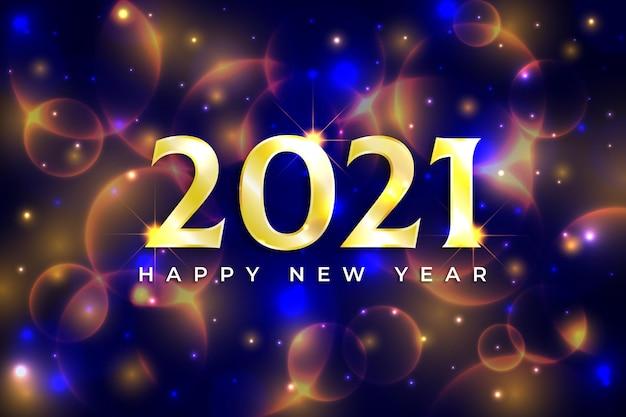 Año nuevo borrosa 2021